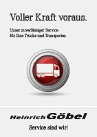 Servicearbeiten für Nutzfahrzeuge