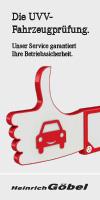 UVV-Fahrzeugprüfung